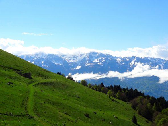 Uitzicht vanaf Col de Coq