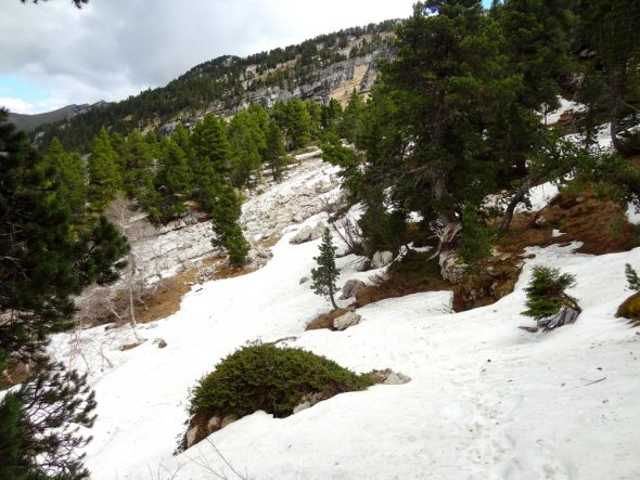 Sneeuw op de Dent de Crolles