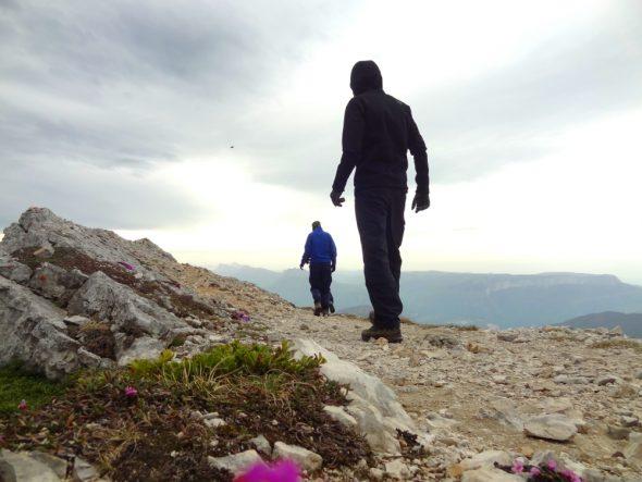 Op de top van de Chamechaude