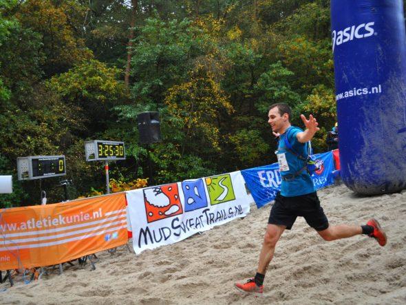 Finish na 3:25:30 bij het eerste NK Duinentrail