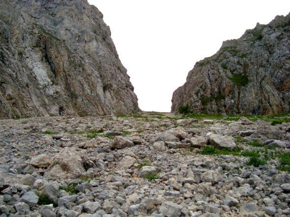 de steile klim bij Pas de Berrièves