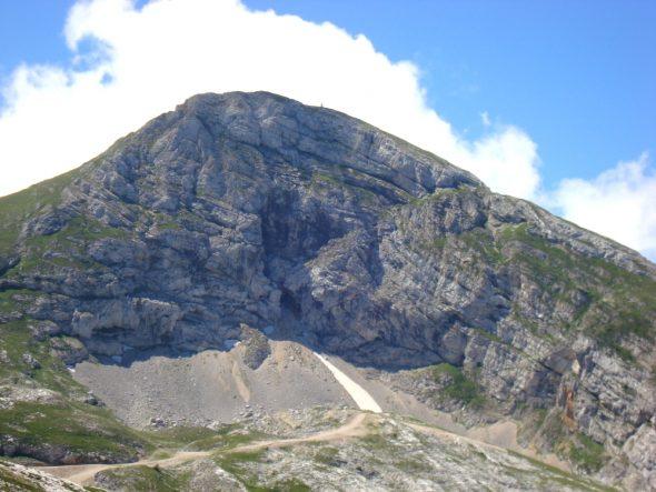 La Grande Moucherolle, 2284 meter hoog
